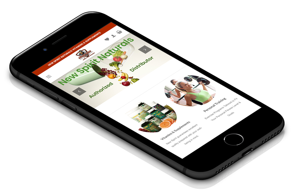 Rockin' Robin Fitness - Responsive iPhone Design