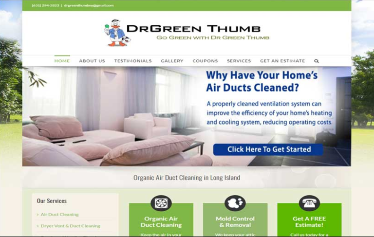 Dr. Green Thumb - Long Island Air Duct Cleaning