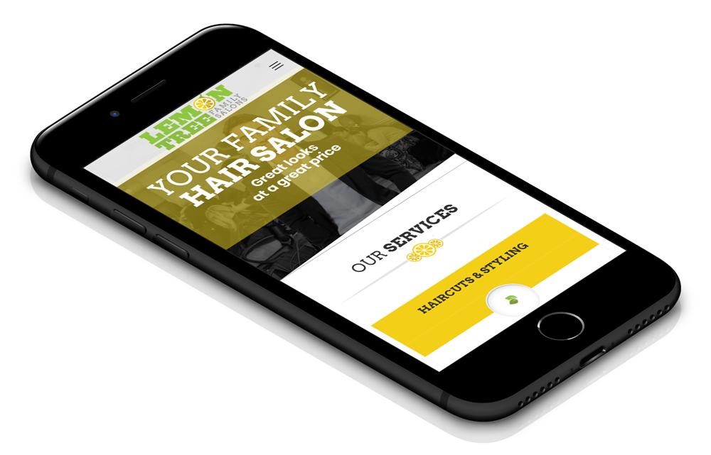 Mobile Web Design for Lemontree
