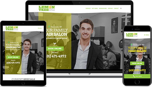 Nassau County Website Design