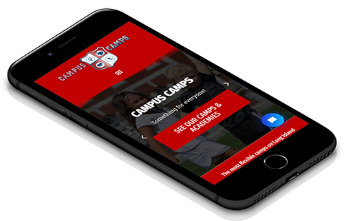 Nassau County website design mobile